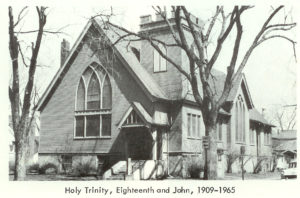1965 Holy Trinity unites with Pilgrim