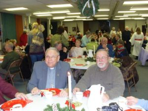 Service of Lessons & Carols / Santa Lucia Vesper Tea  held each December during Advent